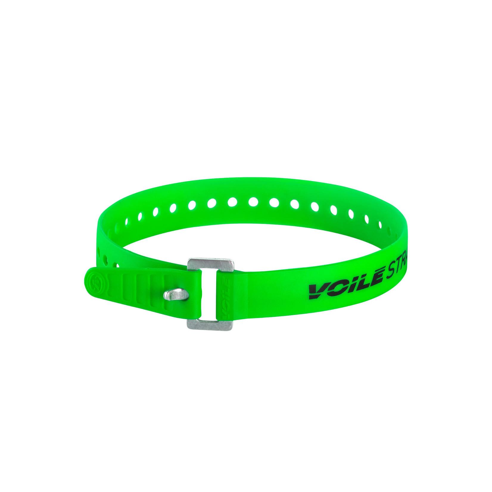 "Voile Voile Straps® XL Series Aluminum Buckle — 32"" Green"