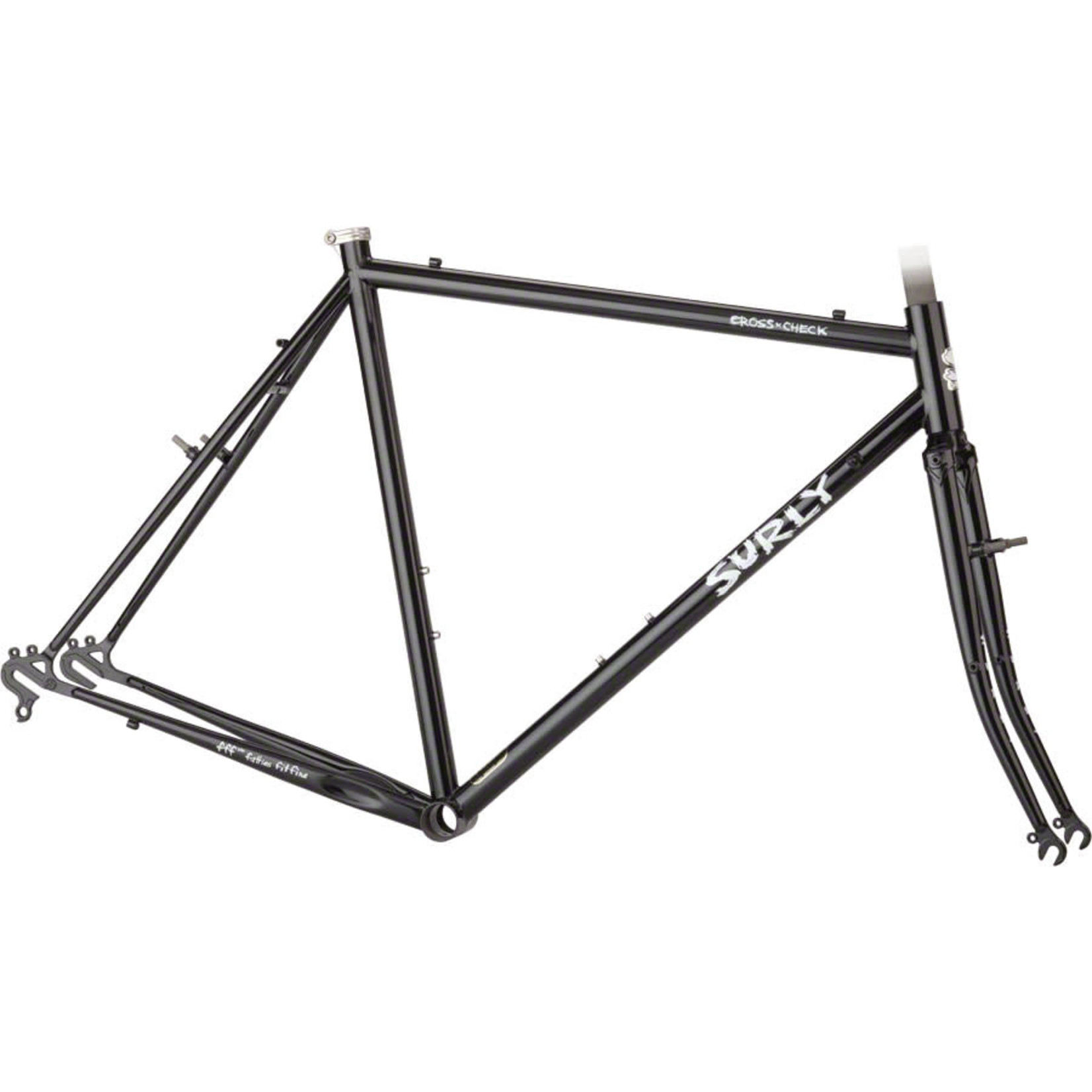 Surly Surly Cross Check 58cm Frameset Gloss Black