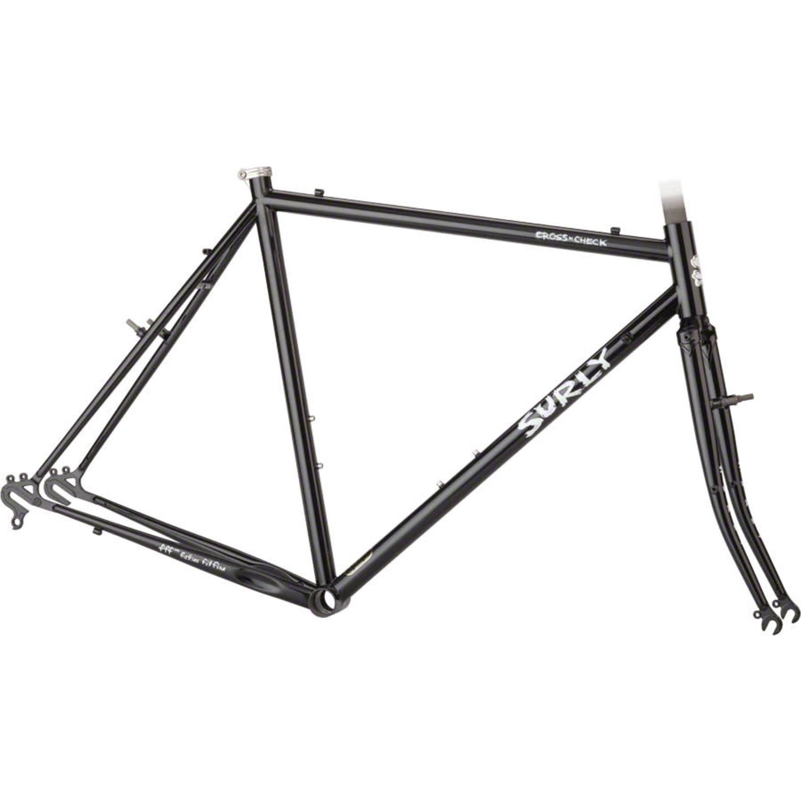 Surly Surly Cross Check 52cm Frameset Gloss Black