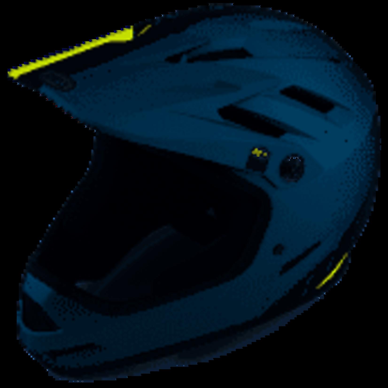 Bell Bike Bell Sanction Matte Blue/HiViz XS