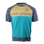 Yeti Cycles Yeti Longhorn S/S Jersey Turq/Earth Medium