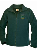 SMTA Green Fleece Full Zip Jacket
