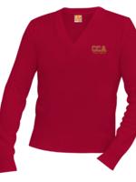 TUS CCA V-neck Pullover sweater