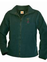 TUS SJC Green Fleece Full Zip Jacket