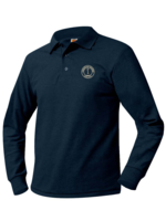 TUS CUSSD Long Sleeve Pique Polo