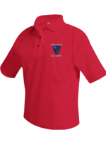 CCDS Short Sleeve Pique Polo