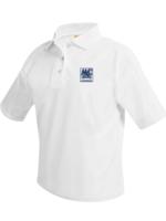 OLMC Short Sleeve White Pique Polo