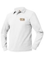CCA Long Sleeve Pique Polo