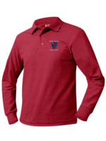 TUS CCDS Long Sleeve Pique Polo