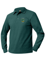TUS SMTA Long Sleeve Pique Polo