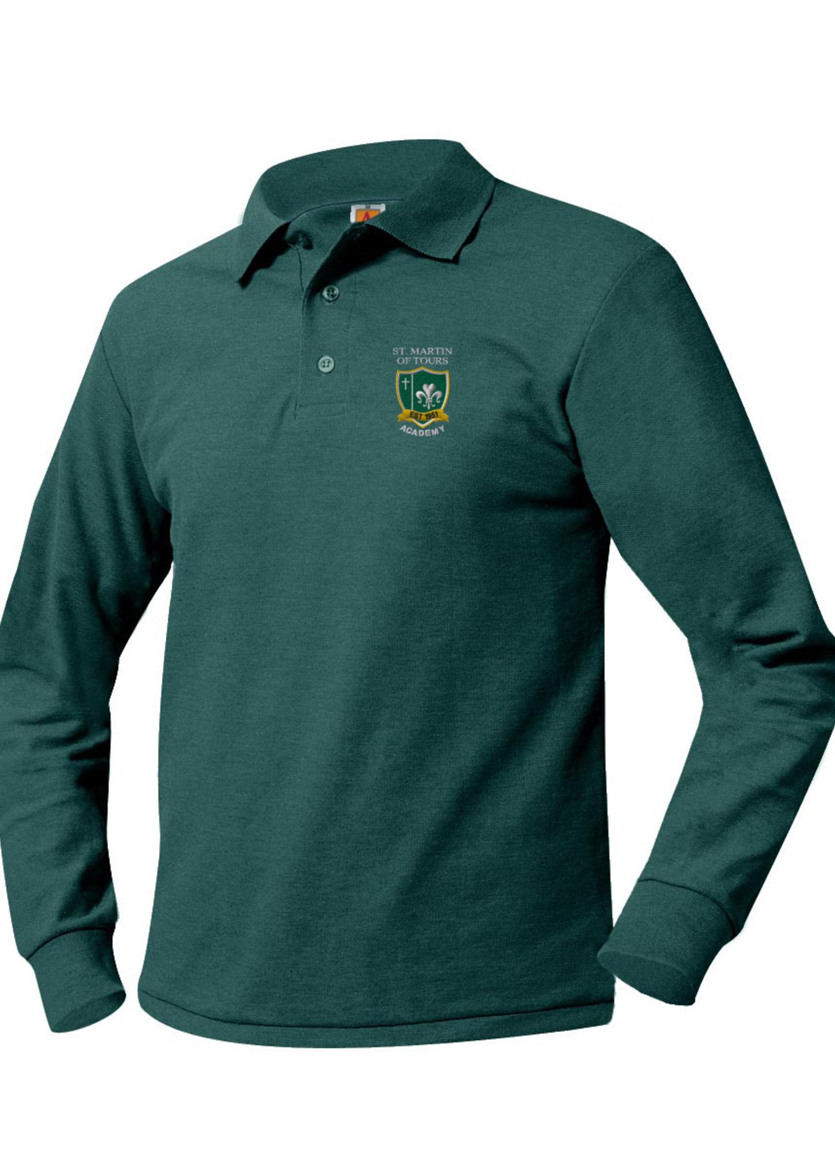 TUS SMTA Long Sleeve Pique Polo