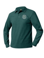 SPS Forest Long Sleeve Pique Polo