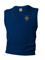 TUS CCPS Navy V-neck sweater vest