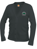 TUS CTCS V-neck cardigan sweater with pockets