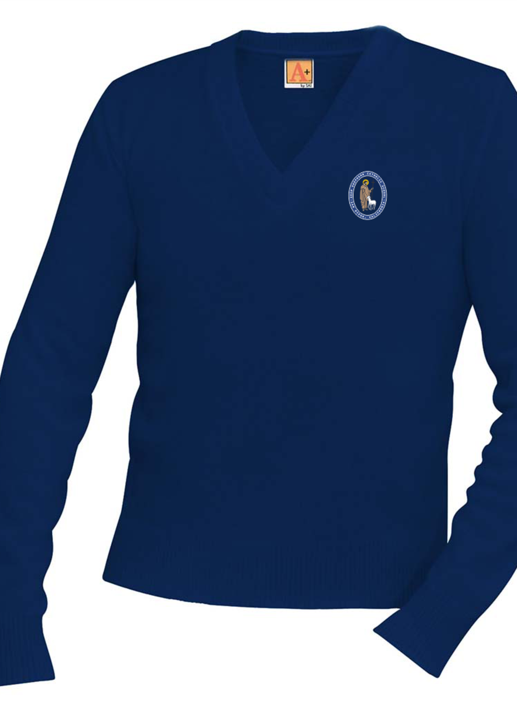 TUS GSCS Navy V-neck Pullover sweater