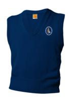 GSCS Navy V-neck sweater vest