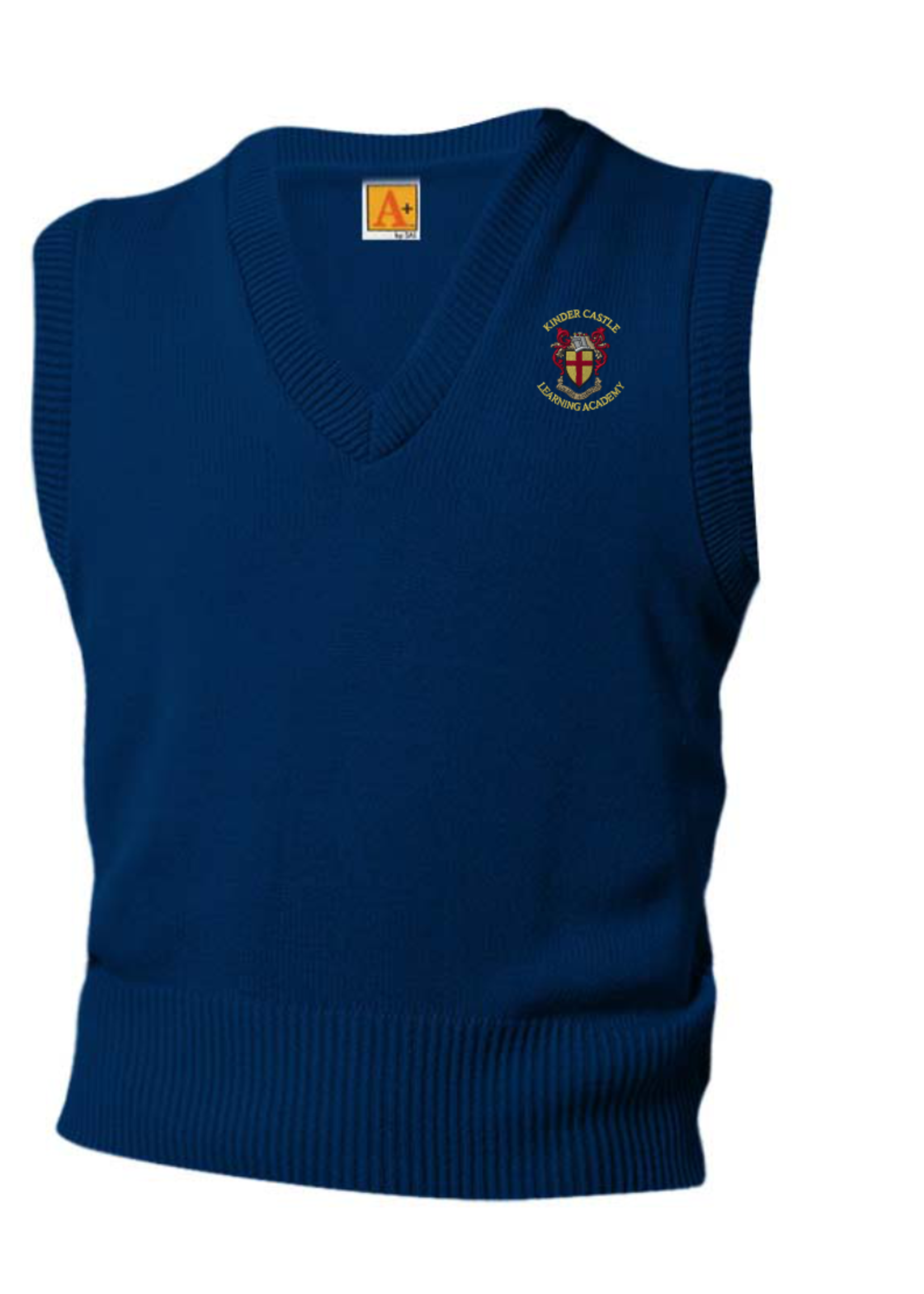 TUS KCLA Navy V-neck sweater vest