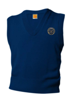 OLA Navy V-neck sweater vest