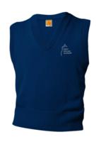 TUS SMA Navy V-neck sweater vest