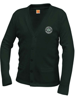 SPS Forest V-neck cardigan sweater with pockets