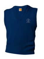 TUS SPX Navy V-neck sweater vest