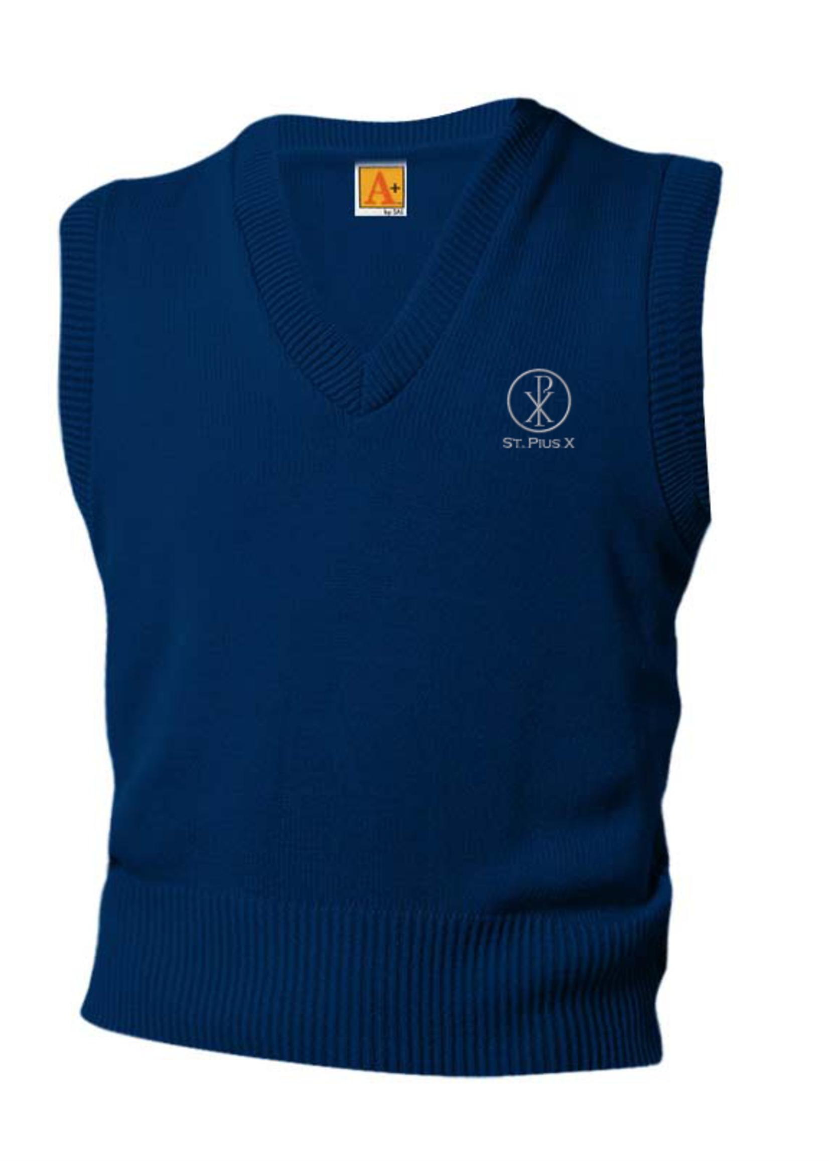 SPX Navy V-neck sweater vest