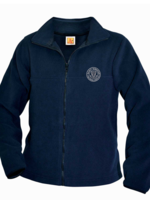 TUS SDPS Navy Fleece Full Zip Jacket