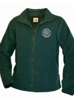 TUS SPS Green Fleece Full Zip Jacket