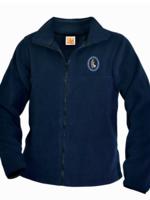 GSCS Navy Fleece Full Zip Jacket