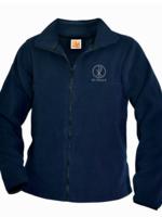 SPX Navy Fleece Full Zip Jacket