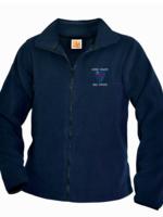 CCDS Navy Fleece Full Zip Jacket