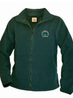 TUS CTCS Green Fleece Full Zip Jacket