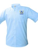 TUS ClCA White Short Sleeve Oxford Shirt