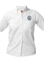 Null GSCS White Short Sleeve Oxford Shirt