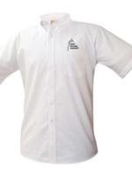 TUS SMA White Short Sleeve Oxford Shirt