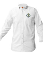 TUS SCCS White Long Sleeve Oxford Shirt