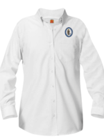 Null GSCS White Long Sleeve Oxford Shirt