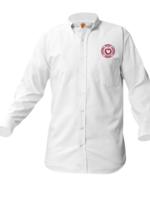 TUS SHS White Long Sleeve Oxford Shirt