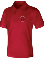 CLS Red DryFit Short Sleeve Polo Shirt
