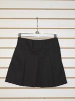 Black Bias Band Skirt