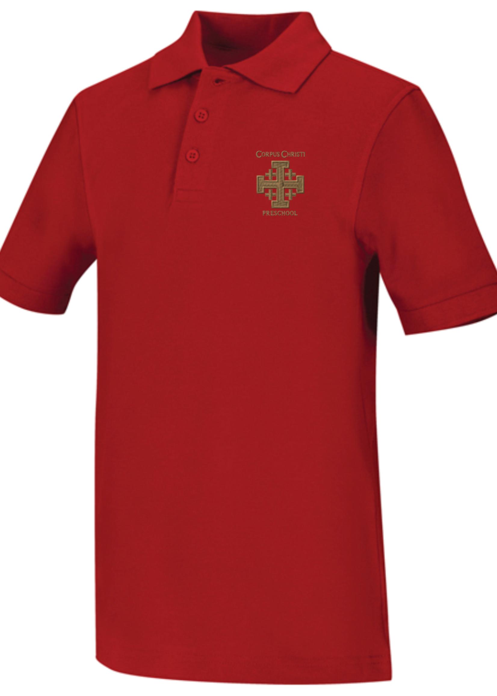 TUS 5832 CCPS Polo VL Pique SS Red
