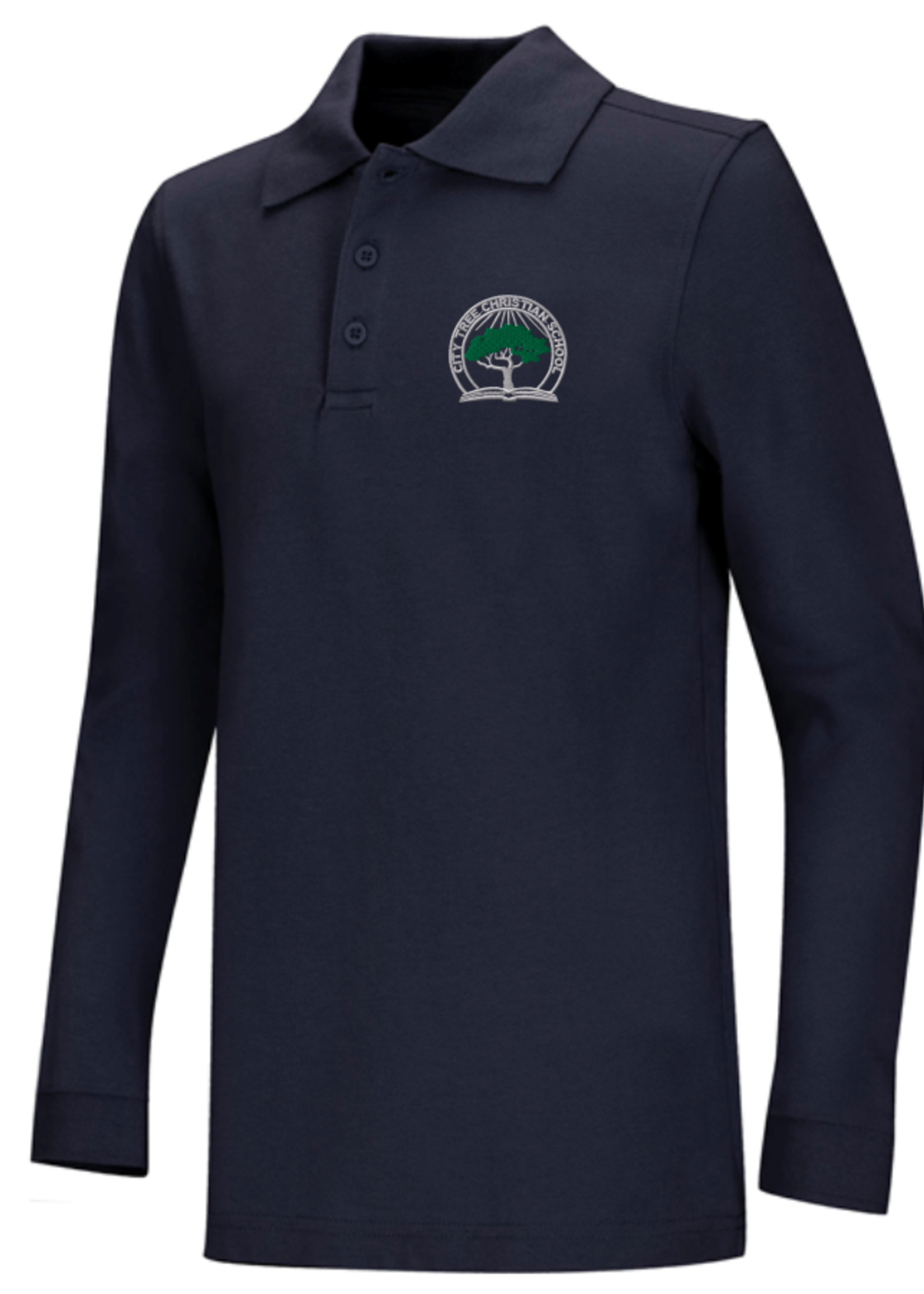 TUS CTCS Value Long Sleeve Pique Polo