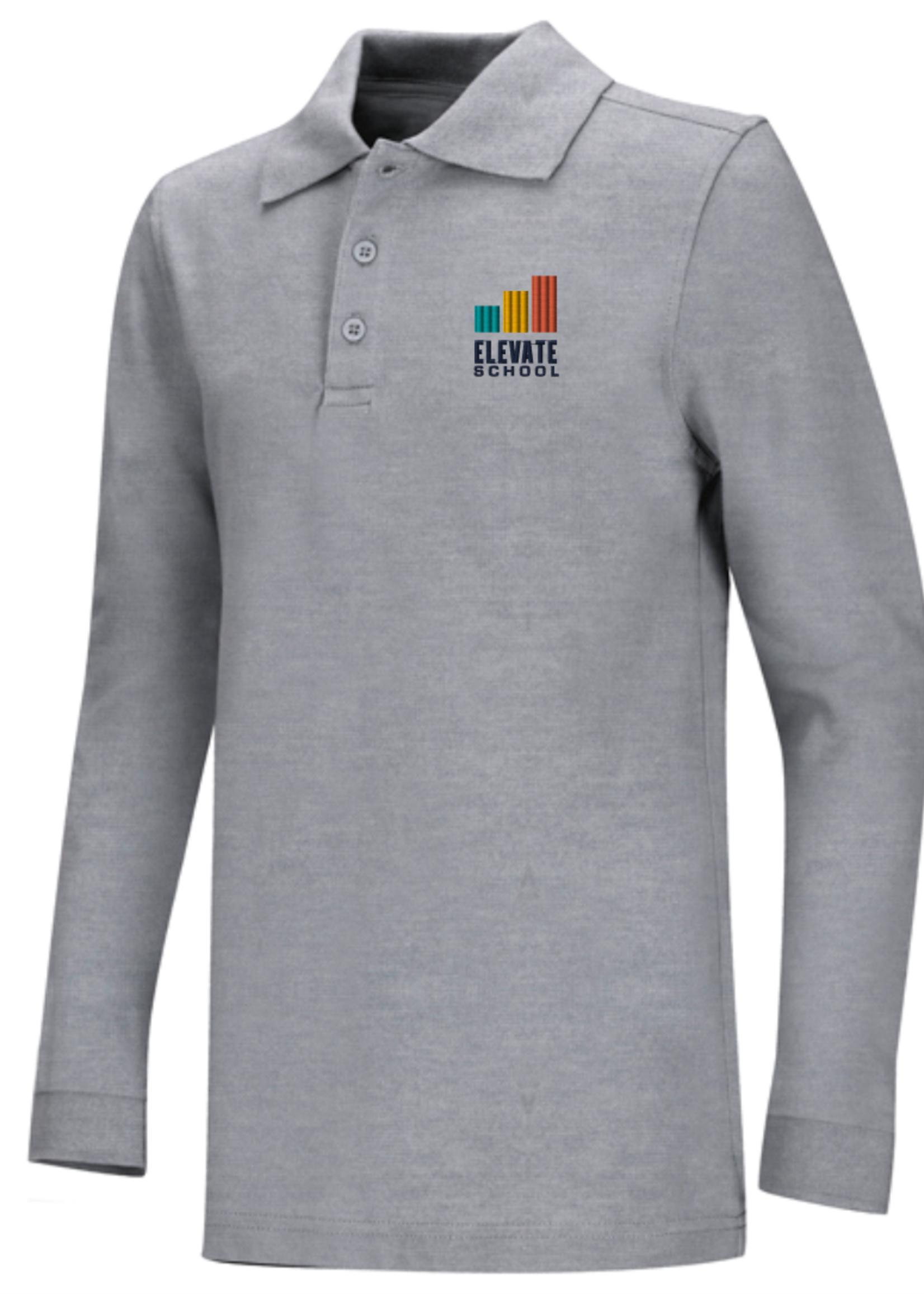 TUS Elevate Value Long Sleeve Polo
