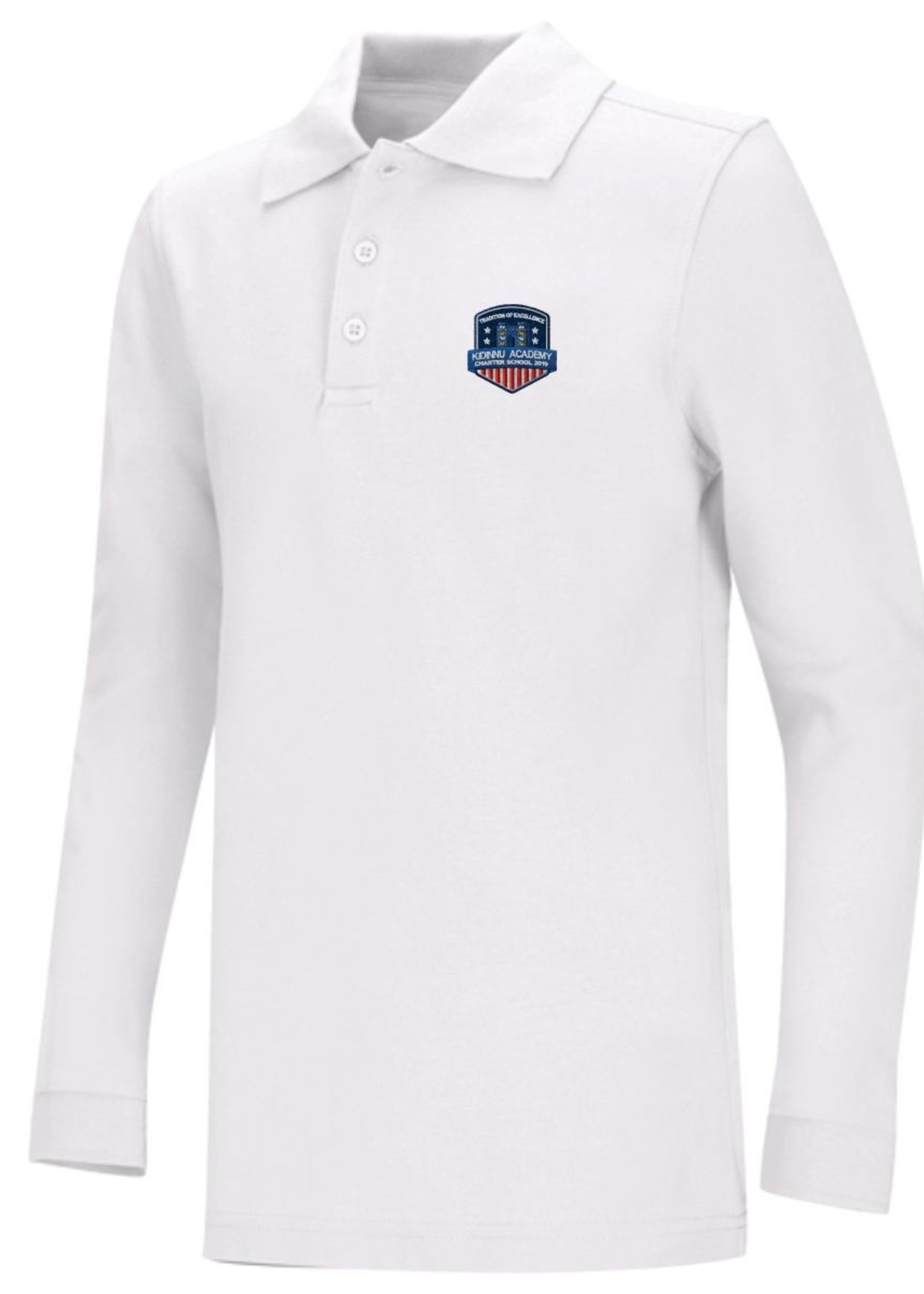 TUS KACS Value Long Sleeve Pique Polo