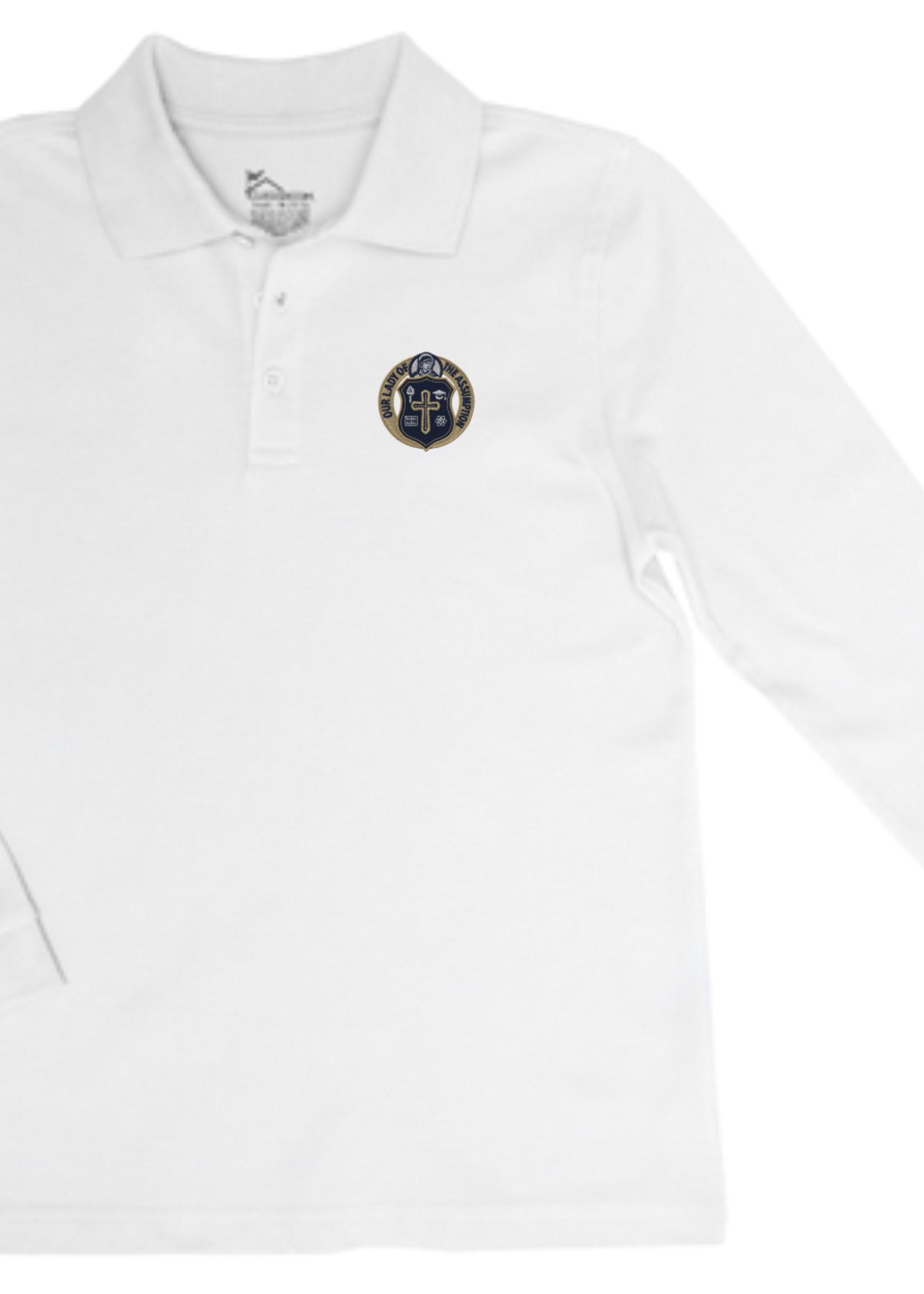 OLA Value Long Sleeve Pique Polo