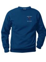 TUS CCDS Navy Fleece Crewneck Sweatshirt (EMB)