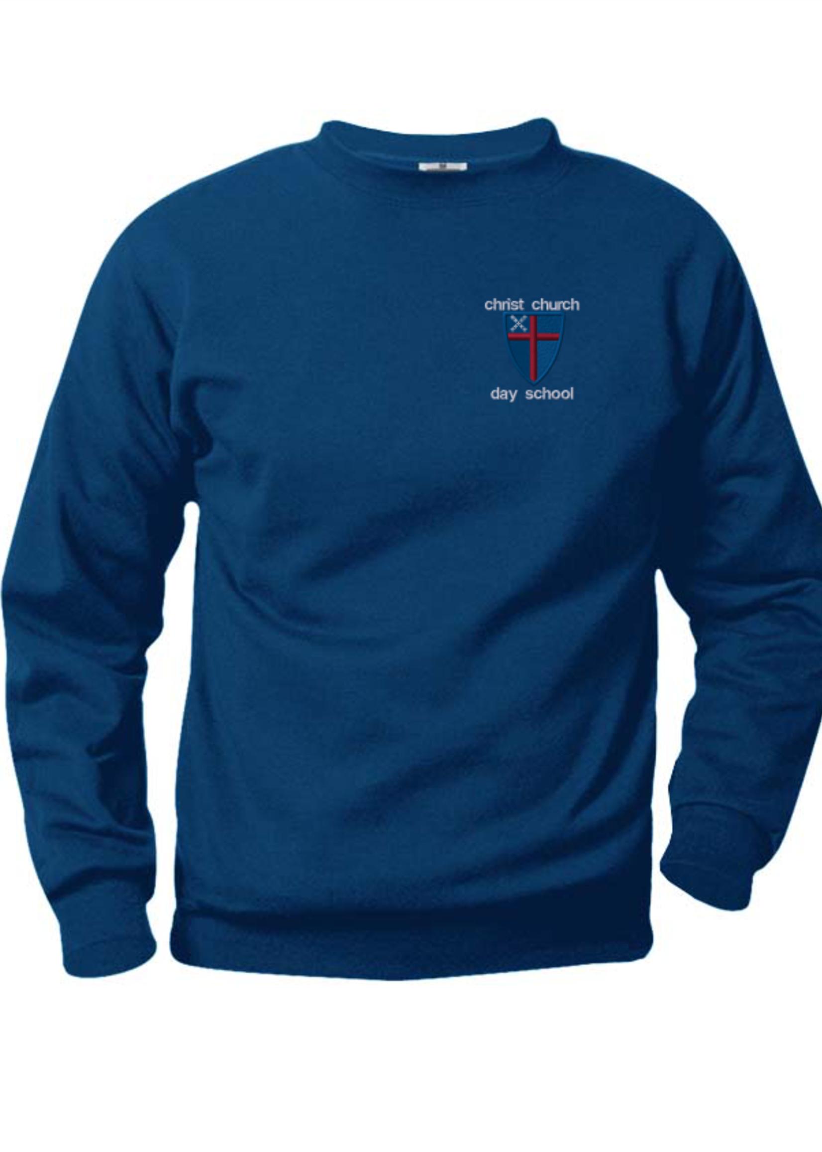 CCDS Navy Fleece Crewneck Sweatshirt (EMB)