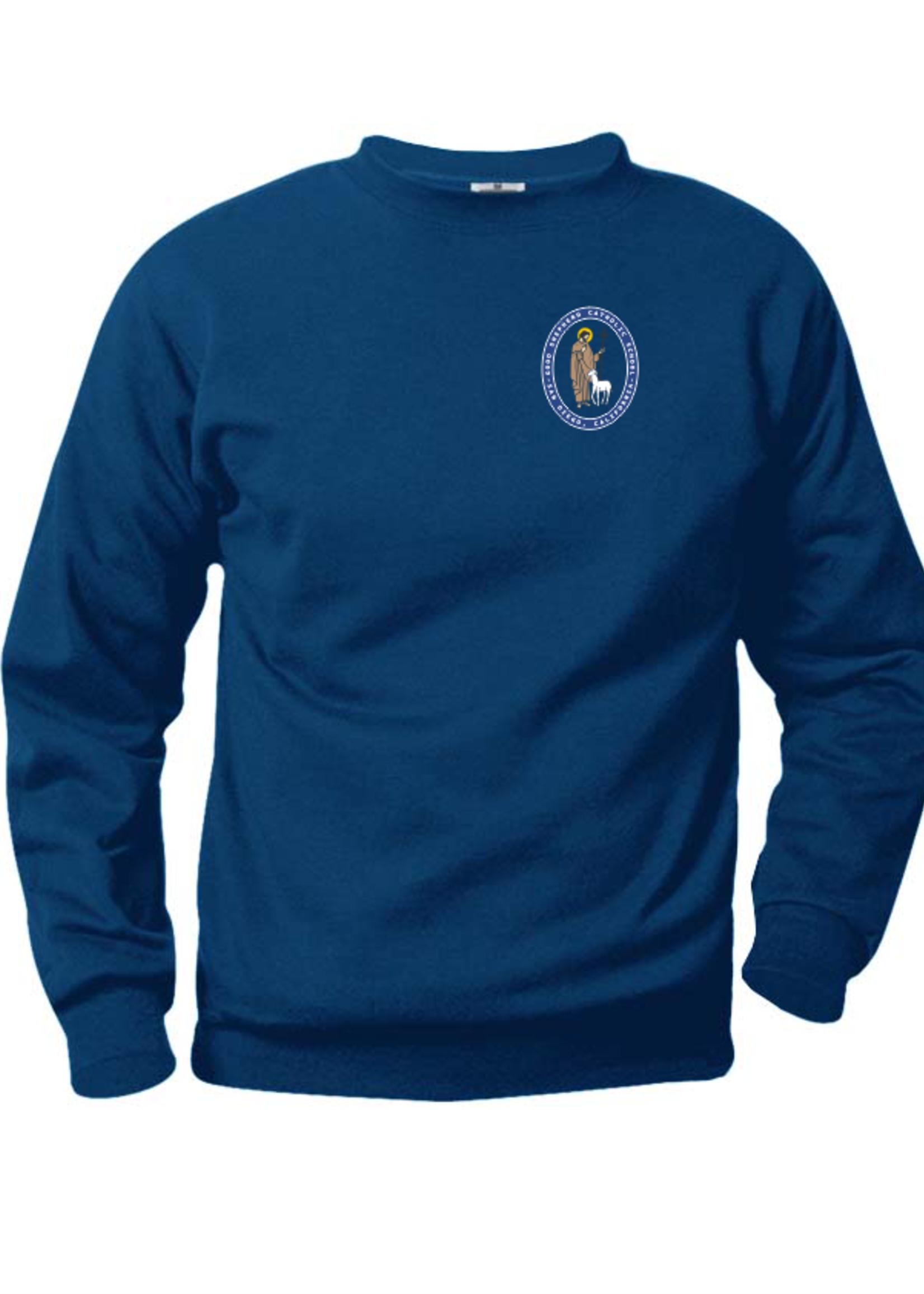 TUS GSCS Navy Fleece Crewneck Sweatshirt (SCR)