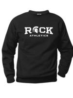 ROCK Black Fleece Crewneck Sweatshirt (SCR)