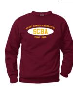 SCBA Wine Fleece Crewneck Sweatshirt (SCR)